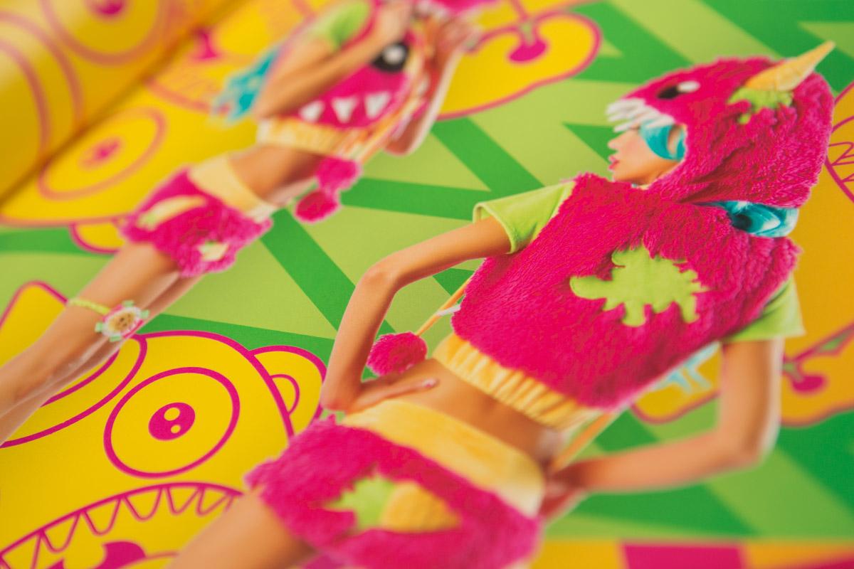 Josie Loves J Valentine catalog monster detail