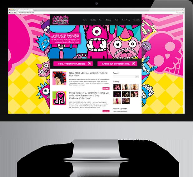 Josie Loves J Valentine website
