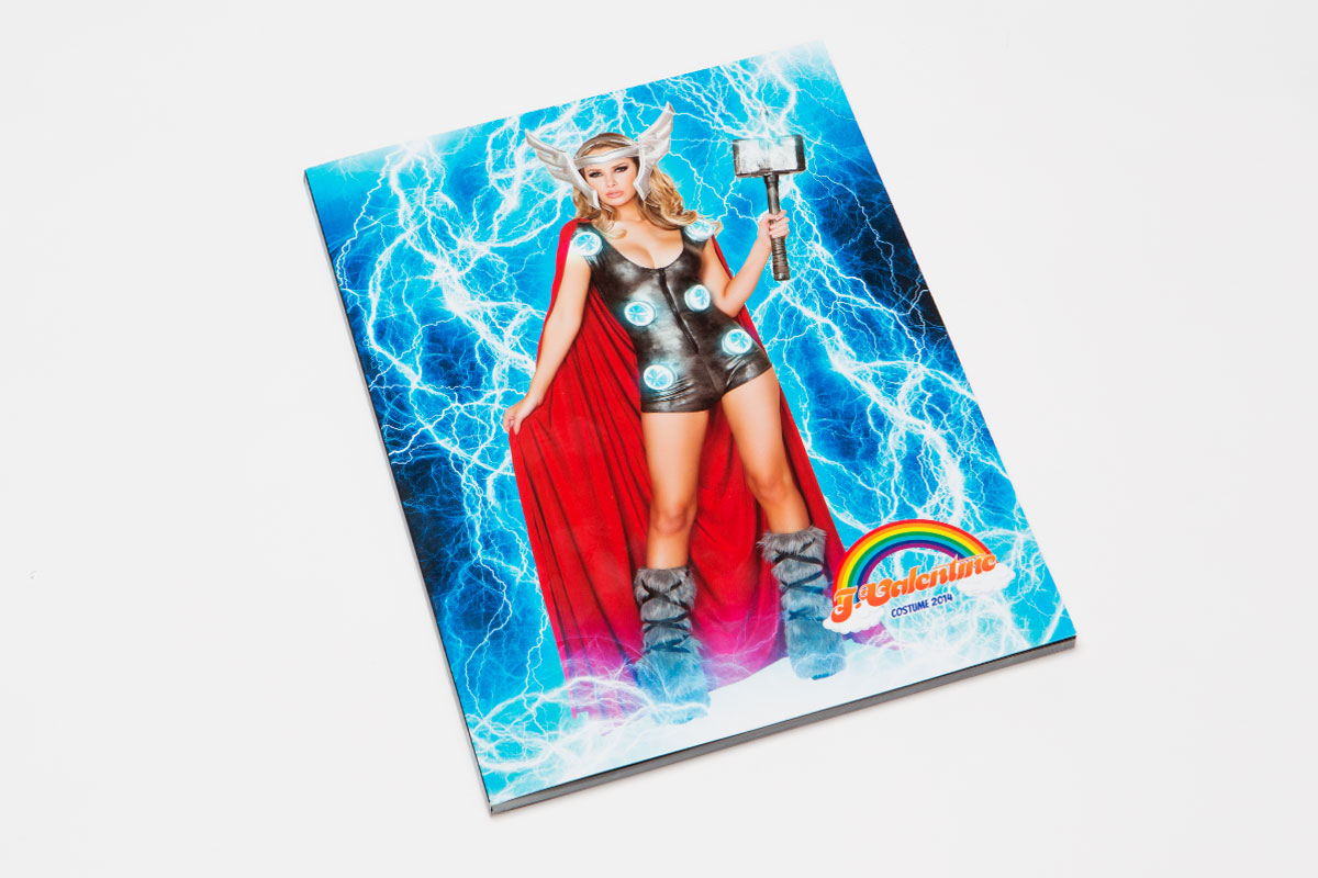 J Valentine costume catalog front cover