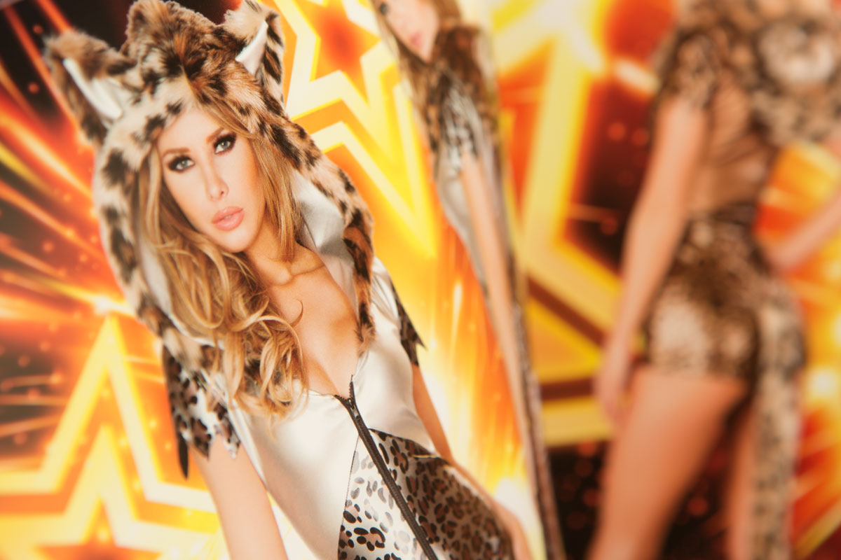J Valentine costume catalog cheetah costume
