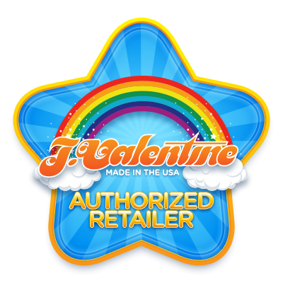 J Valentine Retailer Badge design