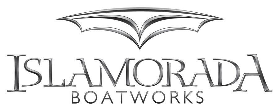 Islamorada Boatworks Chrome Logo design