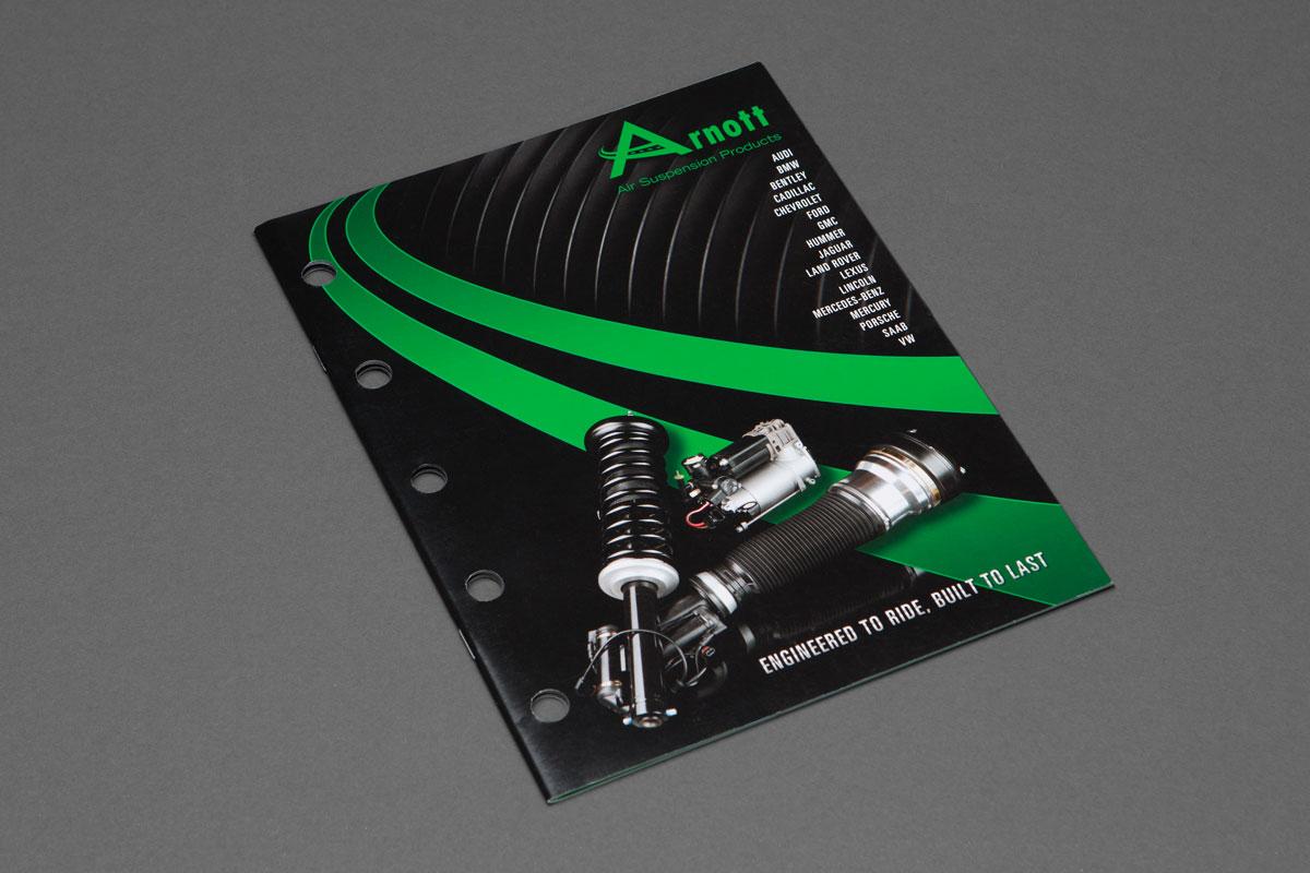 Arnott Catalog cover