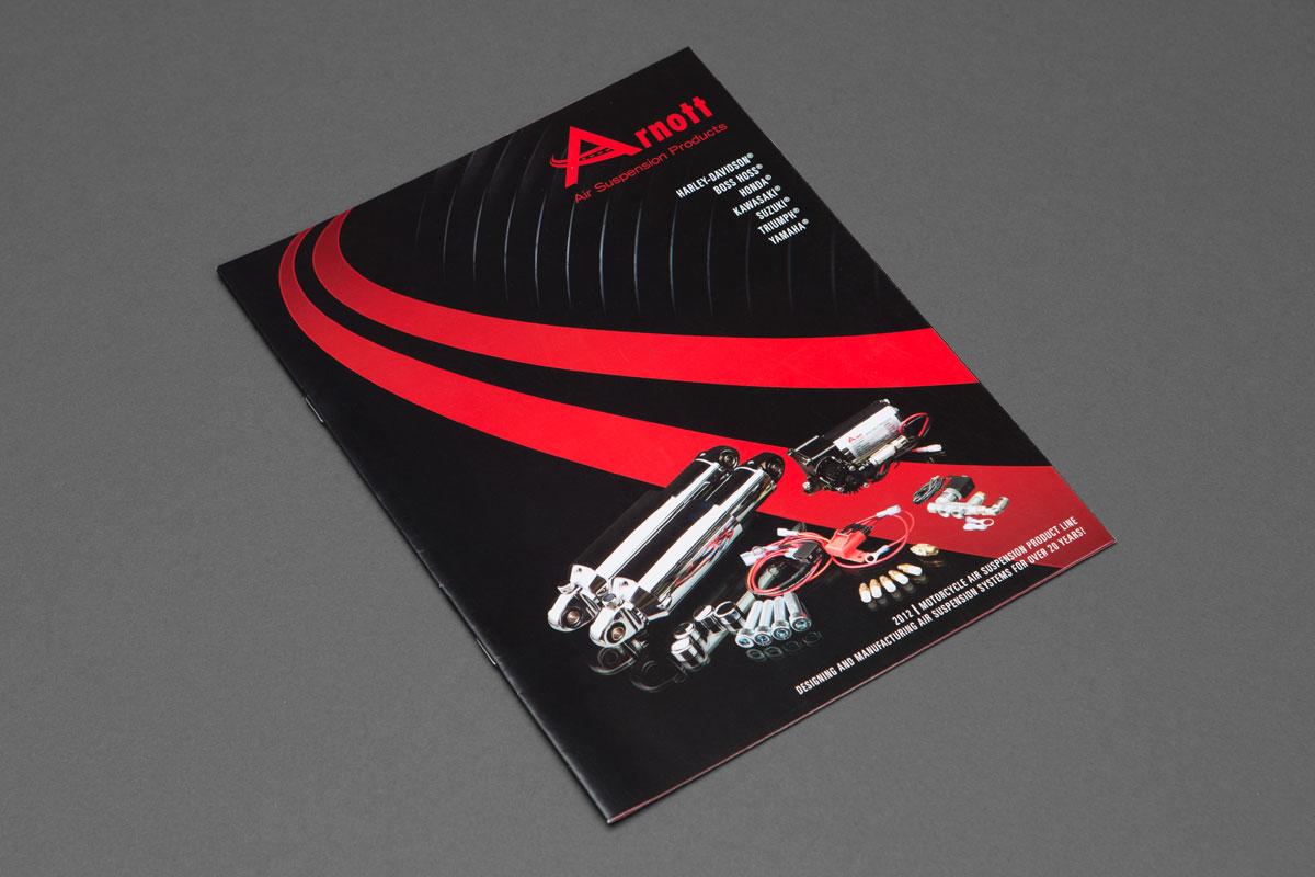 Arnott Motorcycle Catalog cover