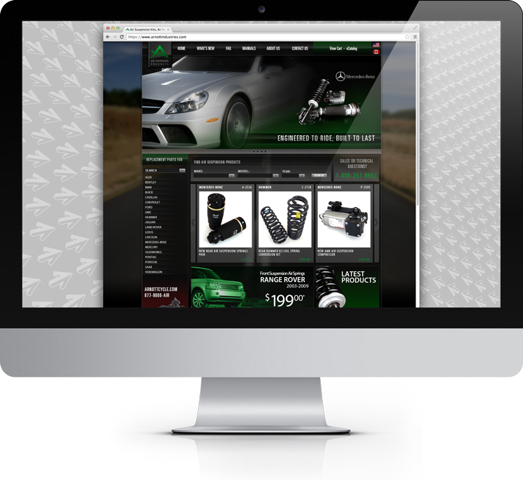 Arnott Website Design