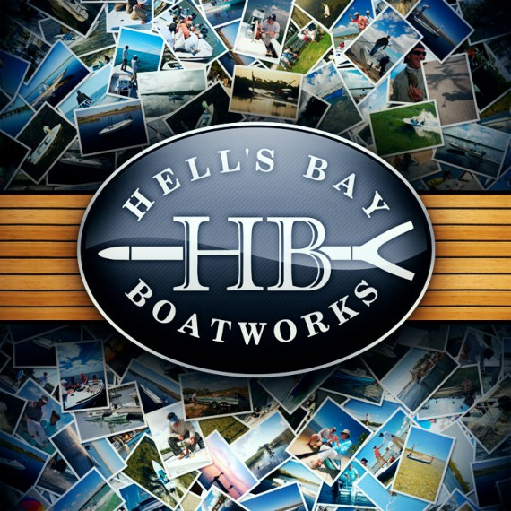 Hells Bay Boatworks logo emblem
