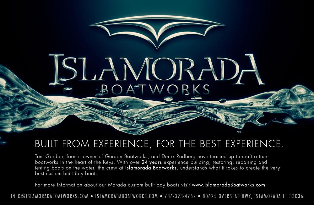 Islamorada Boatworks logo design