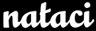 Nataci white logo