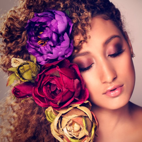 flower girl beauty makeup