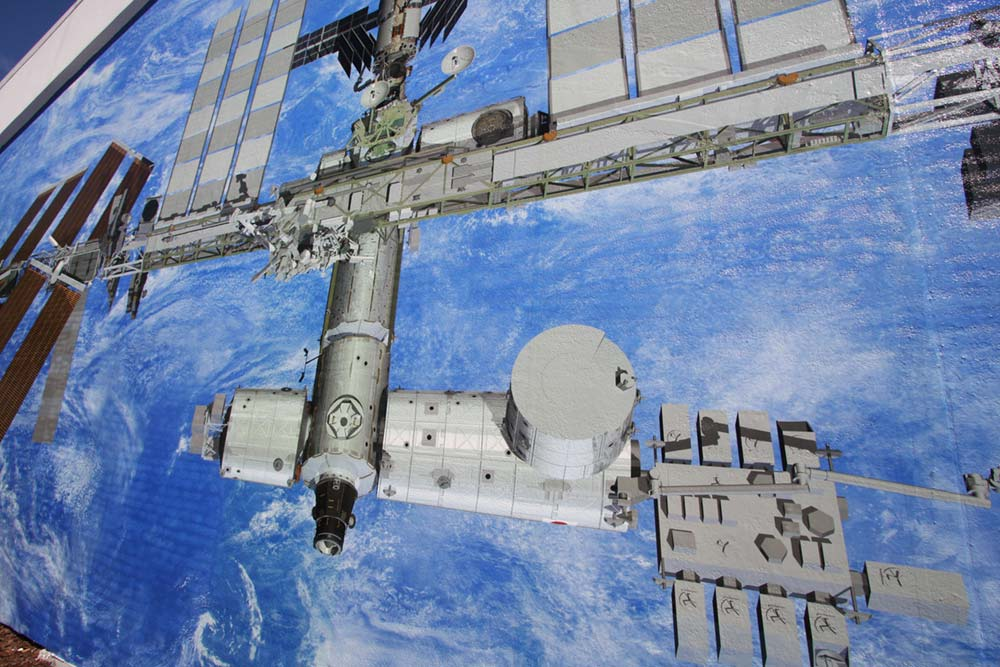 ISS Mural Detail