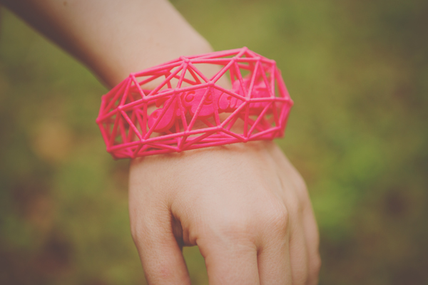 J Valentine 3d bracelet on wrist 2 small