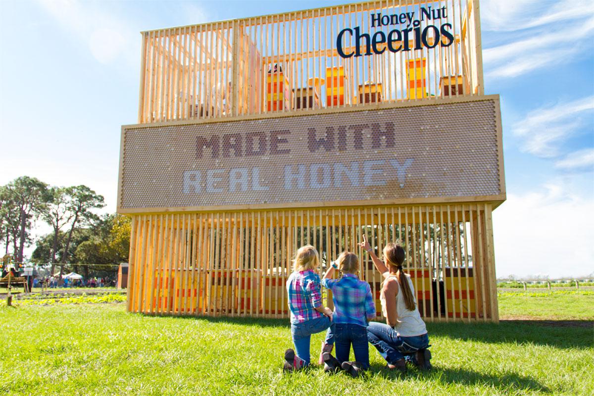 Cheerios family advertising