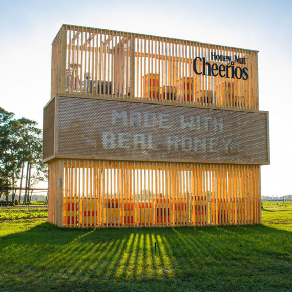 Cheerios advertising