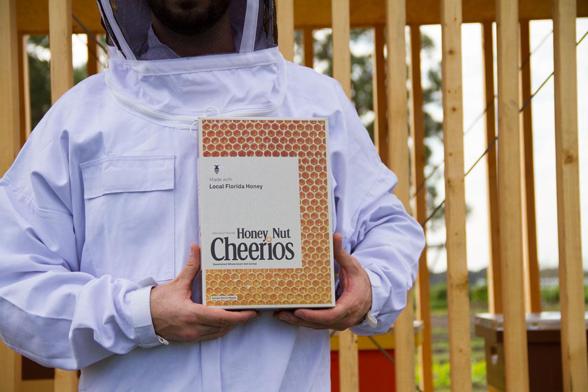 Cheerios honey