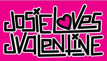 Josie Loves J Valentine logo