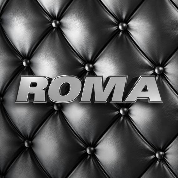 Roma logo black