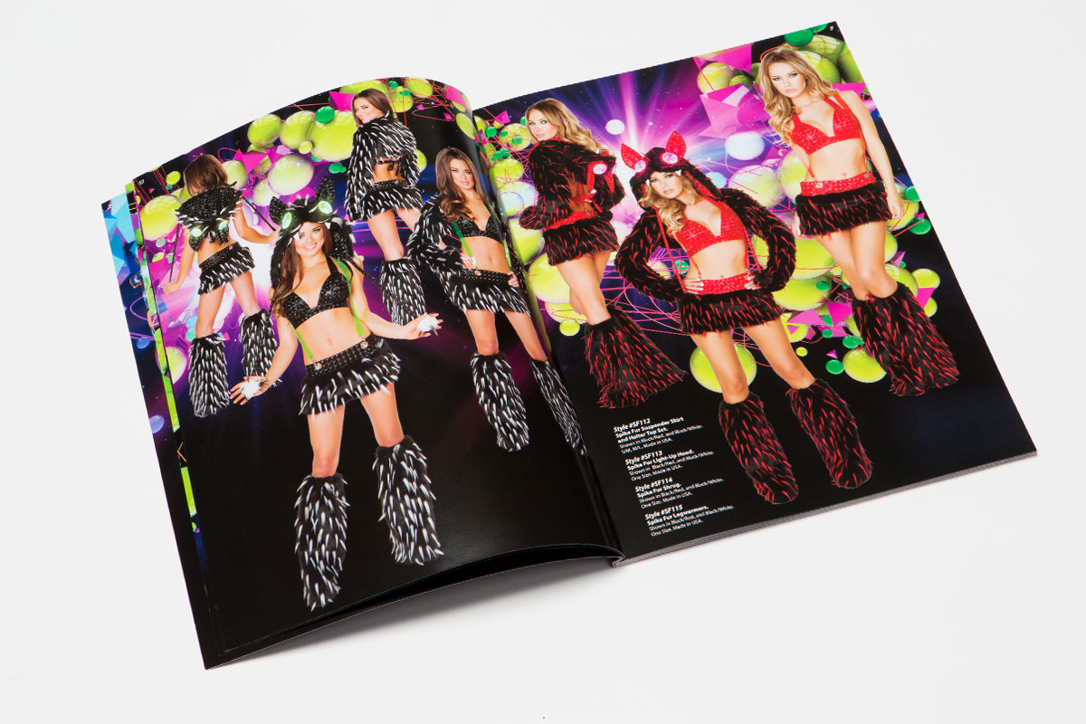 J Valentine clubwear catalog black costumes