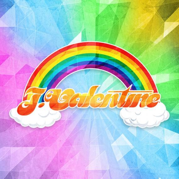 J Valentine logo design