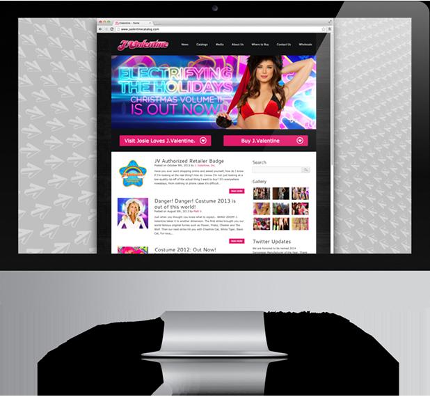 J Valentine Website Design