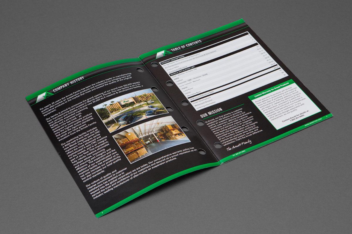 Arnott Catalog page