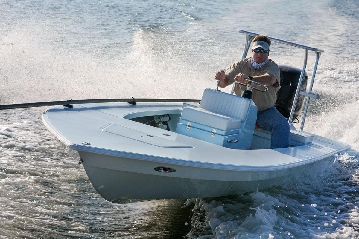 Hell's Bay running boat
