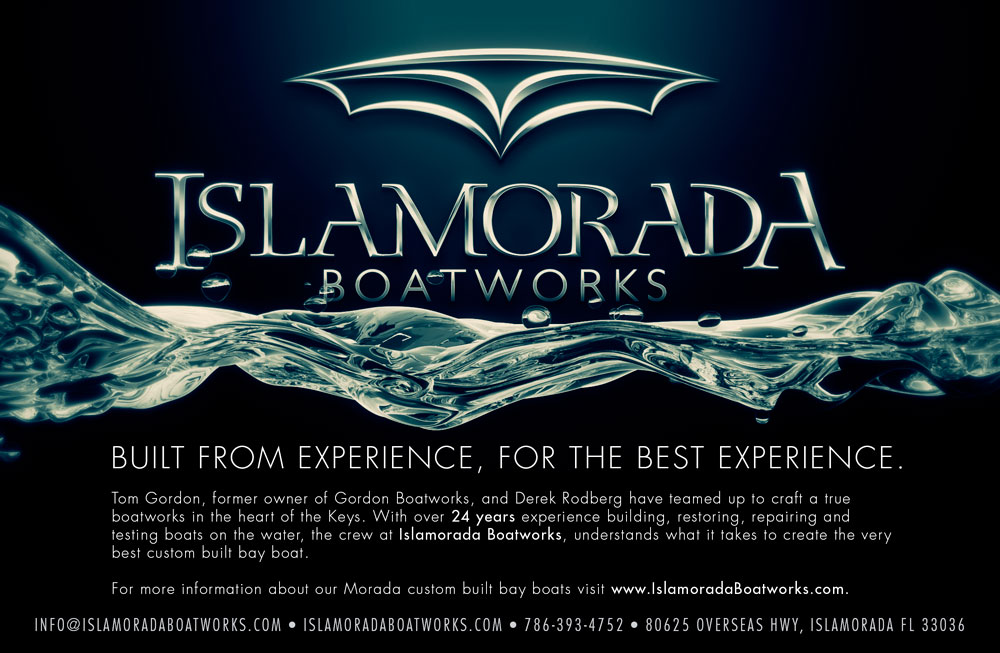 Islamorada Boatworks logo design