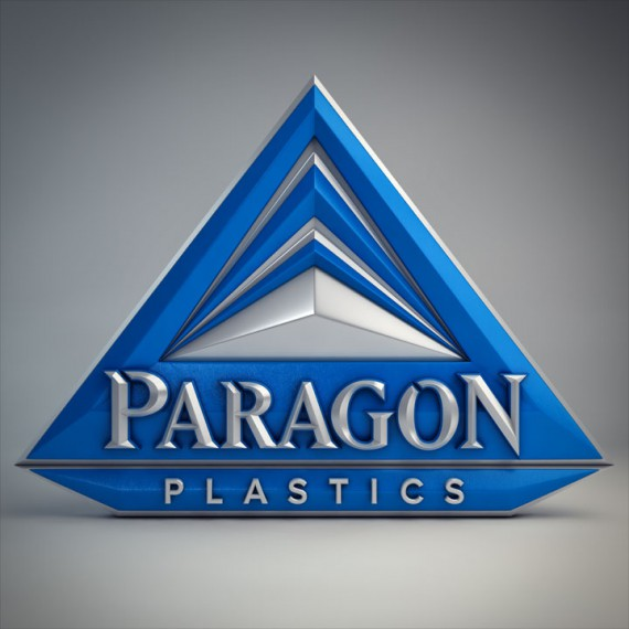 Paragon logo blue