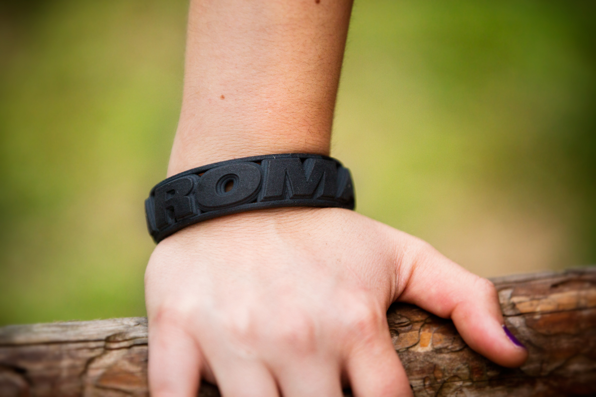 Roma 3d bracelet on wrist